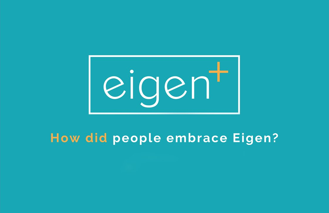 How did people embrace Eigen?