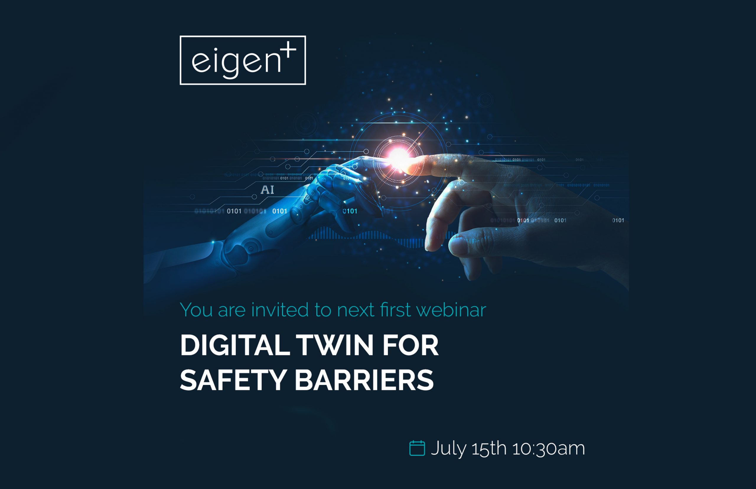 Digital Twin for Safety Barriers - Eigen